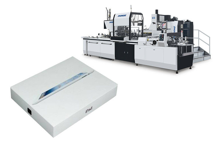 7800 Kg Gift Box Making Machine , ZK-660CN Phone Case Maker Machine
